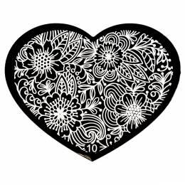 NANI zdobicí destička Srdce - 10