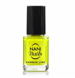 NANI lak Summer Line 12 ml - Neon Yellow
