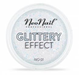 NeoNail glitrový prach Glittery Effect - 01