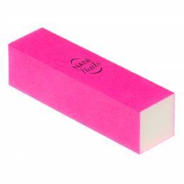 NANI brusný blok na nehty, 100/100 - Neon Pink