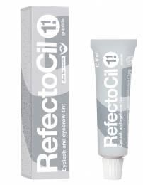 RefectoCil barva na řasy a obočí 15 ml - Grafitová č. 1.1