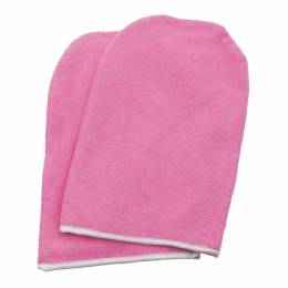 NANI froté parafínové rukavice Premium - Růžová