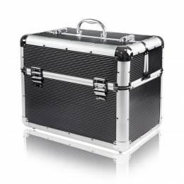 NANI kosmetický kufřík XL, vleze UV lampa - Černá