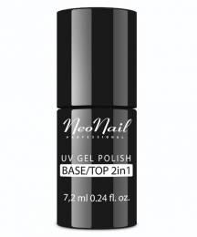 NeoNail gel lak 7,2 ml - Base/Top (2 v 1)