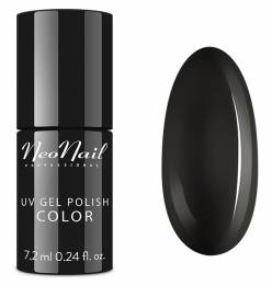 NeoNail gel lak 7,2 ml - Pure Black