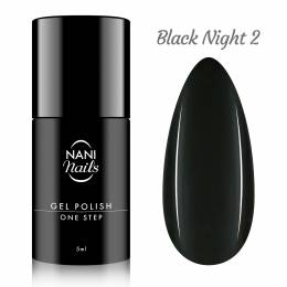 NANI gel lak One Step Lux 5 ml - Black Night