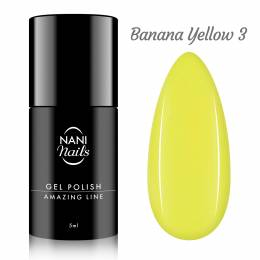 NANI gel lak Amazing Line 5 ml - Banana Yellow