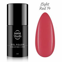 NANI gel lak Amazing Line 5 ml - Light Red