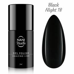 NANI gel lak Amazing Line 5 ml - Black Night