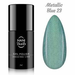 NANI gel lak Amazing Line 5 ml - Metallic Blue