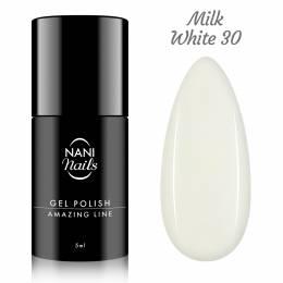 NANI gel lak Amazing Line 5 ml - Milky White