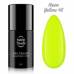 NANI gel lak Amazing Line 5 ml - Neon Yellow
