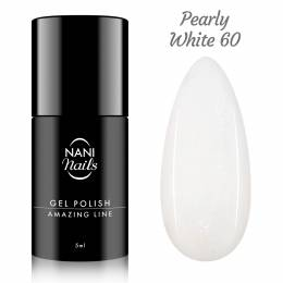 NANI gel lak Amazing Line 5 ml - Pearly White