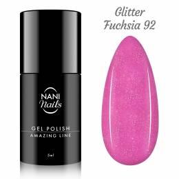 NANI gel lak Amazing Line 5 ml - Glitter Fuchsia