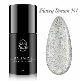 NANI gel lak Amazing Line 5 ml - Silvery Dream