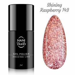 NANI gel lak Amazing Line 5 ml - Shining Raspberry
