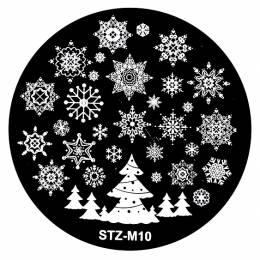 NANI zdobicí destička Vánoce M10