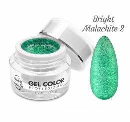 NANI UV/LED gel Glamour Twinkle 5 ml - Bright Malachite