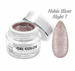 NANI UV/LED gel Glamour Twinkle 5 ml - Noble Silver Night
