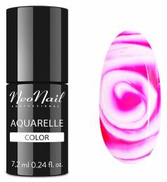 NeoNail gel lak 7,2 ml - Raspberry Aquarelle