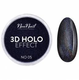 NeoNail lešticí pigment 3D Holo Effect - Black