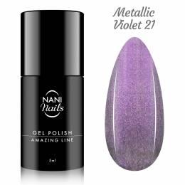 NANI gel lak Amazing Line 5 ml - Metallic Violet