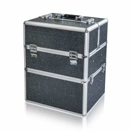 NANI dvoudílný kosmetický kufřík NN45 - Black Diamond
