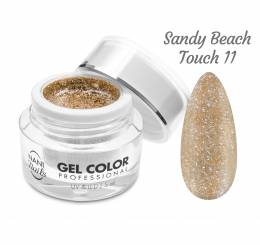 NANI UV/LED gel Glamour Twinkle 5 ml - Sandy Beach Touch