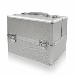 NANI kosmetický kufřík Diamond Effect - Silver