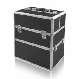 NANI dvoudílný kosmetický kufřík NN48 - Black