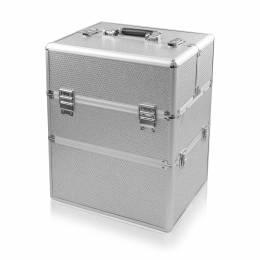 NANI dvoudílný kosmetický kufřík NN50 - Silver Diamond
