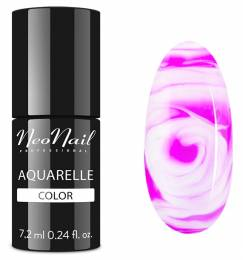 NeoNail gel lak 7,2 ml - Fuchsia Aquarelle