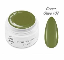 NANI UV gel Nice One Color 5 ml - Green Olive