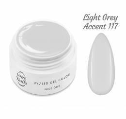 NANI UV gel Nice One Color 5 ml - Light Grey Accent