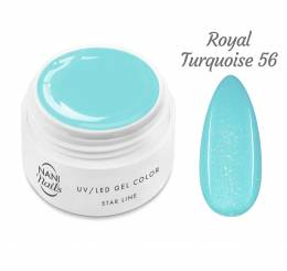 NANI UV gel Star Line 5 ml - Royal Turquoise