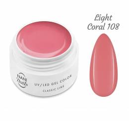 NANI UV gel Classic Line 5 ml - Light Coral