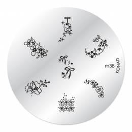 Konad zdobicí destička M38