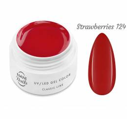 NANI UV gel Classic Neon Line 5 ml - Strawberries