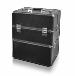 NANI dvoudílný kosmetický kufřík NN56 - Black Matt