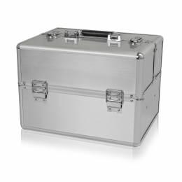 NANI kosmetický kufřík NN58 - Silver Matt