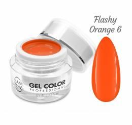 NANI UV/LED gel Professional 5 ml - Flashy Orange
