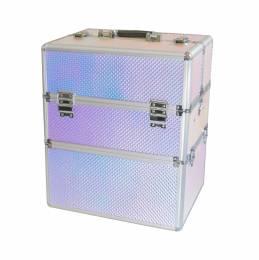 NANI dvoudílný kosmetický kufřík NN65 - 3D Holographic