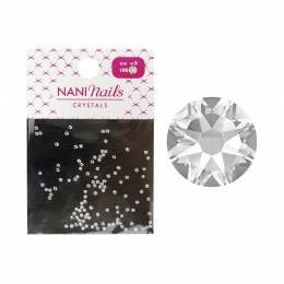 NANI kamínky SS3 100 ks - Crystal