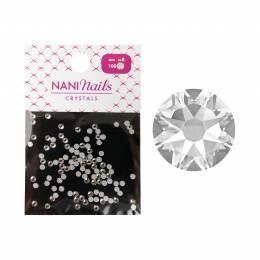 NANI kamínky SS8 100 ks - Crystal