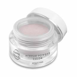 NANI akrylový pudr 3,5 g - Metallic Pink