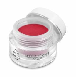 NANI akrylový pudr 3,5 g - Red