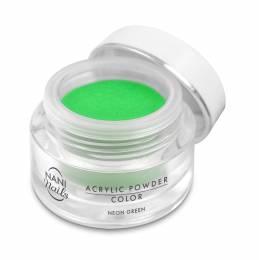 NANI akrylový pudr 3,5 g - Neon Green