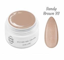 NANI UV gel Star Line 5 ml - Sandy Brown
