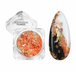 NANI zdobení Aluminium Flakes- Rose Colorful