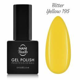 NANI gel lak 6 ml - Bitter Yellow